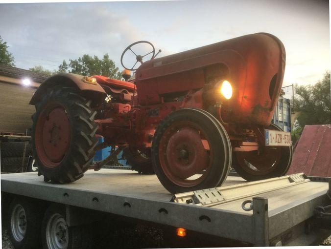 Tractor Porsche 108 junior , Truck1 ID 3752564