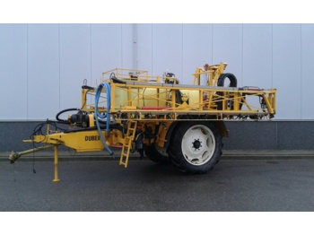 DUBEX  JUNIOR 27 MTR 2500 L + AIRTEC - trailed sprayer