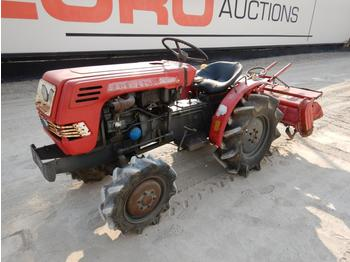 1992 Shibaura Agricultural Tractor c/w 3 Point Linkage, Cultivator - wheel tractor