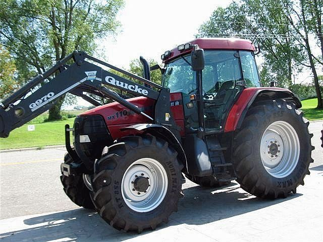 Case Tractor Mx110 : Case ih mx wheel tractor from united kingdom for sale
