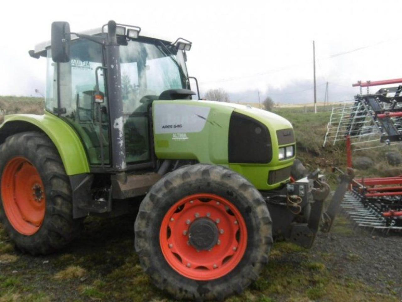 wheel tractor CLAAS ARES 546 RZ