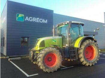 CLAAS ARES 657 - wheel tractor