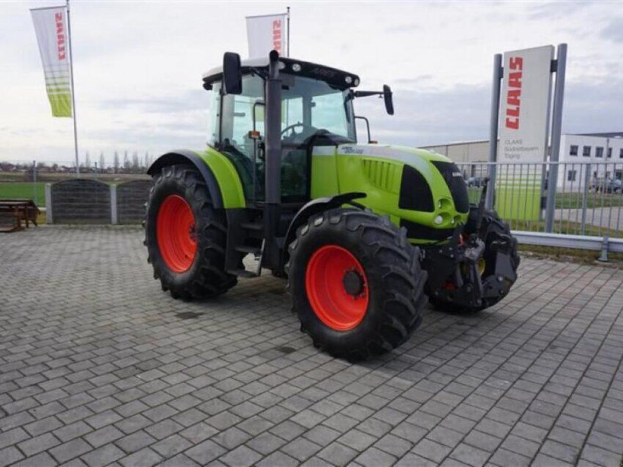 wheel tractor CLAAS ARES 657 ATZ_ALLRAD