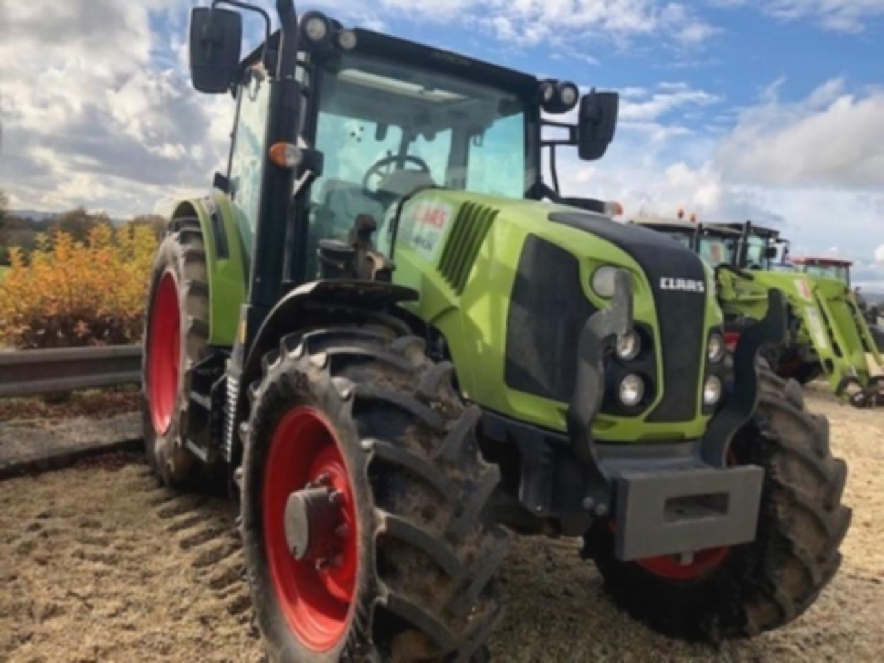 wheel tractor CLAAS ARION 410 MR