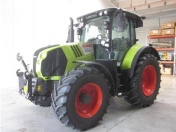 Wheel tractor CLAAS ARION 550 CMATIC CEBIS, nur 590 h !, FKH + FZW, Vorführer, wie NEU !
