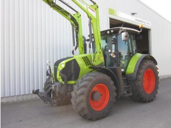 Wheel tractor CLAAS ARION 650 CIS mit Frontlader FL 120 C