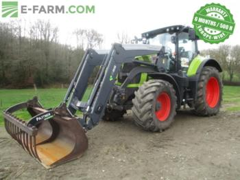 CLAAS AXION 810 CMATIC - wheel tractor
