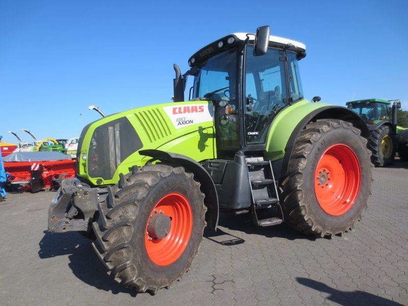 wheel tractor CLAAS AXION 810 C-MATIC