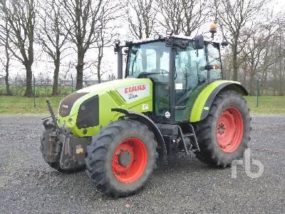 wheel tractor CLAAS AXOS 310
