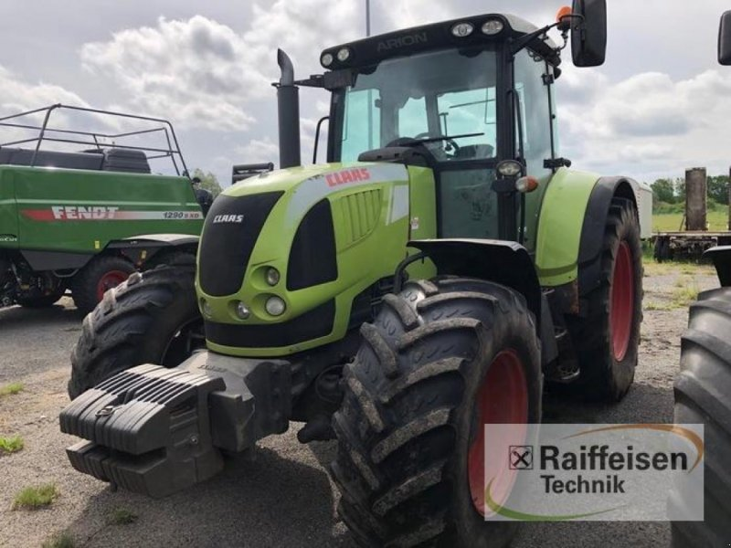 wheel tractor CLAAS Arion 640 CEBIS
