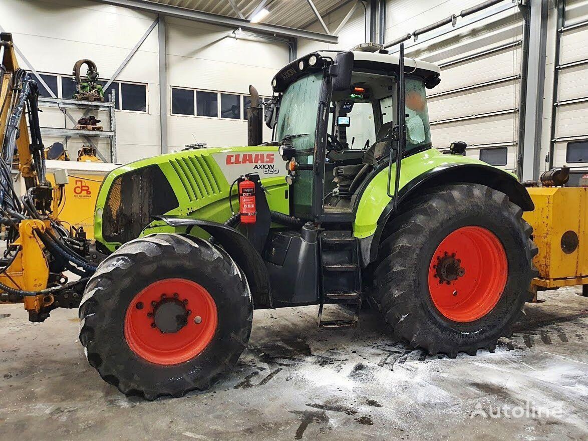 wheel tractor CLAAS Axion 820 *4x4*9000h*2009*