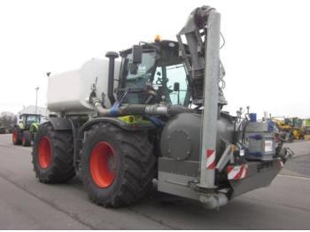 Wheel tractor CLAAS XERION 3800 TRAC VC mit KOTTE Gülletechnik 12 cbm, Frontansaugstation
