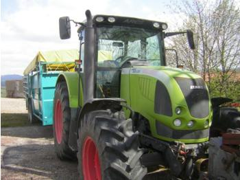 Wheel tractor CLAAS ares 657 atz 4rm