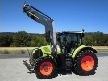 Wheel tractor CLAAS arion 650 cebis frontlader q76