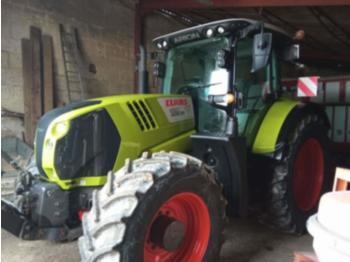 Wheel tractor CLAAS arion 650 cis fcu gold