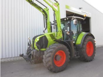 Wheel tractor CLAAS arion 650 cis, frontlader fl 120 c