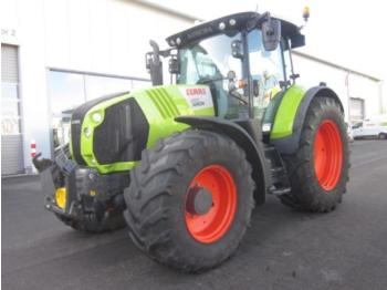 Wheel tractor CLAAS arion 650 cmatic, fkh + fzw