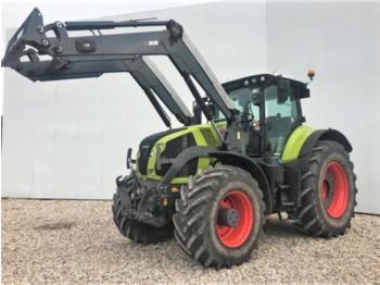 Wheel tractor CLAAS axion 830 cmatic + frontlader quicke q88