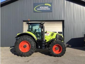 Wheel tractor CLAAS axion 850 cebis affjedret foraksel og frontlift