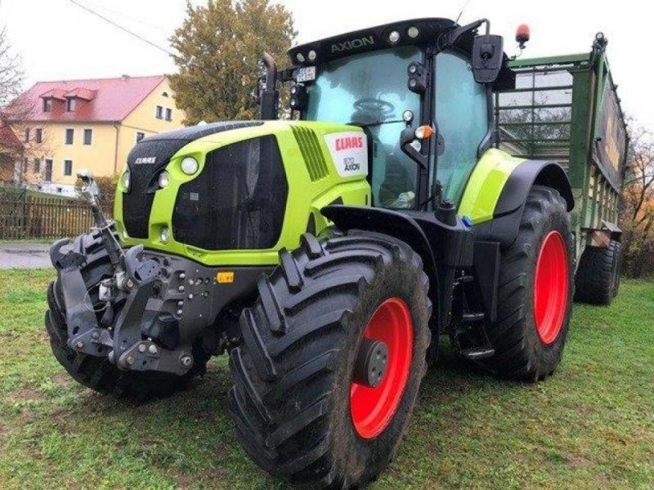 wheel tractor CLAAS axion 870 c-matic