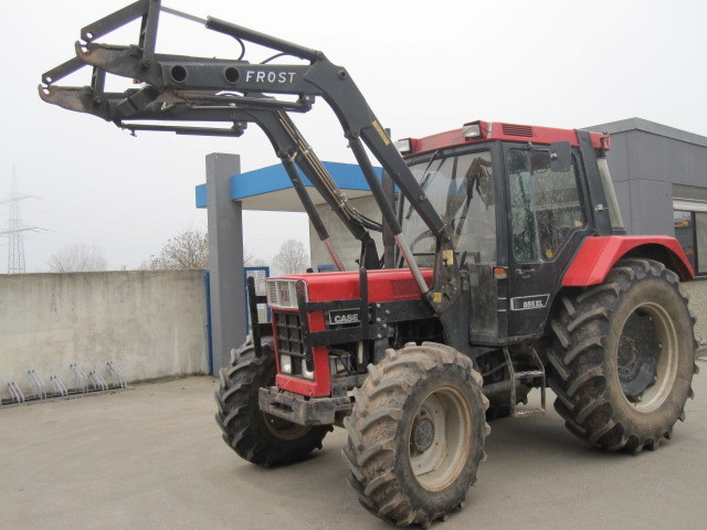 case ih 856 xl mit frontlader frost wheel tractor from. Black Bedroom Furniture Sets. Home Design Ideas