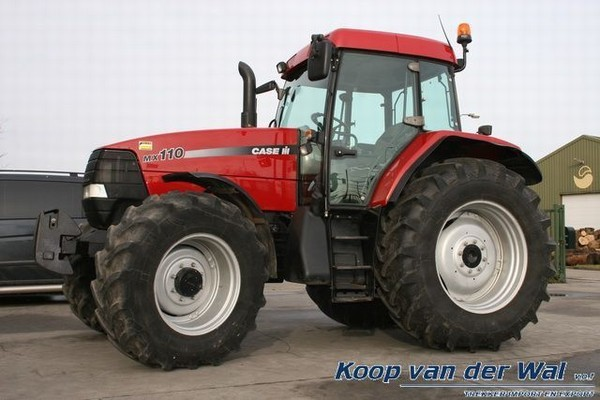Case Tractor Mx110 : Case ih mx wheel tractor from netherlands for sale at