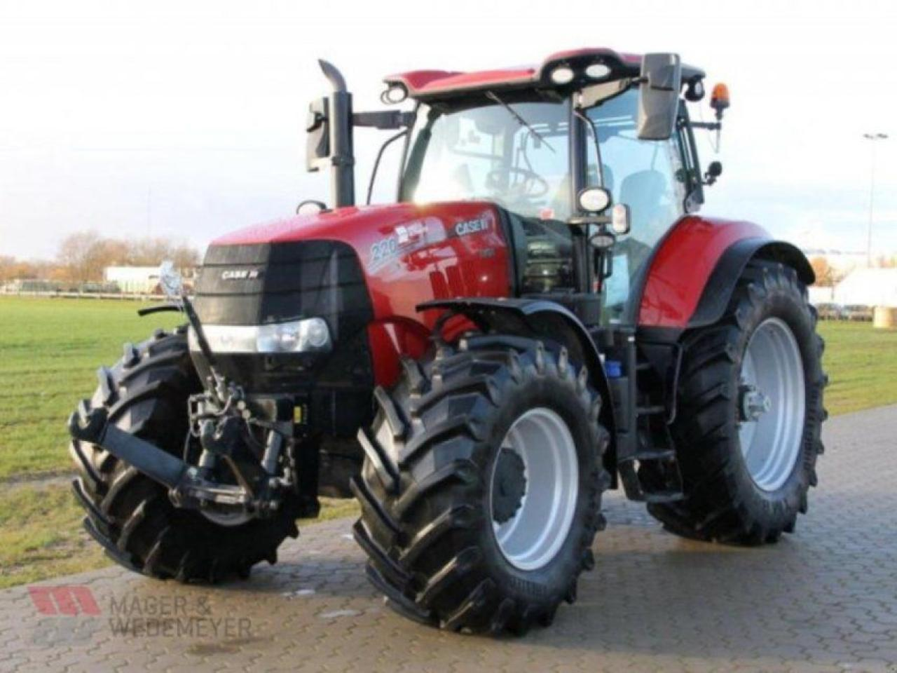 inflación Ocupar Lamer  Case-IH PUMA CVX 220 wheel tractor from Germany for sale at Truck1, ID:  4175706