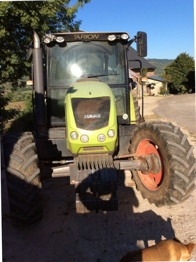 wheel tractor Claas ARION 410
