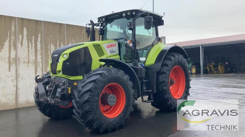 wheel tractor Claas AXION 870 CMATIC TIER 4F