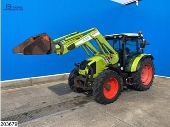 Wheel tractor Claas Axos 340 4x4, Airco, front loader