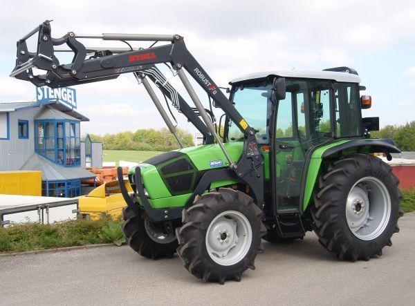Wheel Tractor Deutz Fahr Agrolux 65 Allrad Frontlader Picture 1