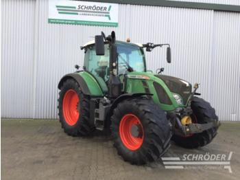 Wheel tractor Fendt 724 Vario SCR Profi Plus