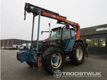 Ford 6640 Suit 8000 B - wheel tractor