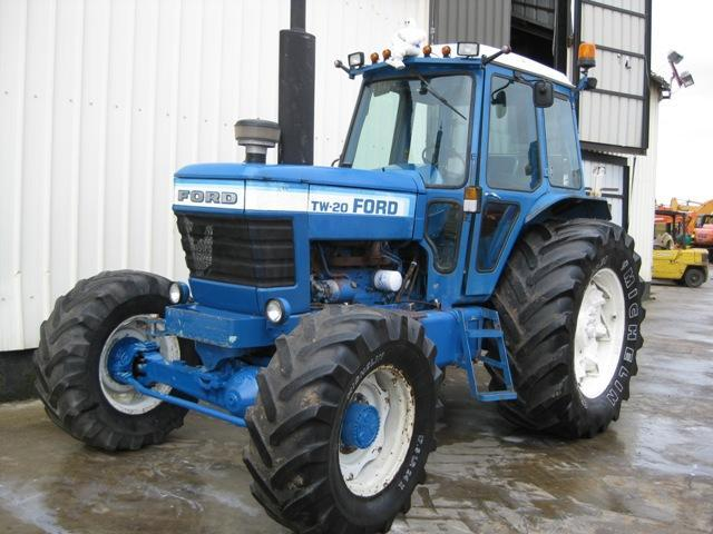 Ford 8000 Tractor Seat Parts : Ford tw wheel tractor from belgium for sale at truck