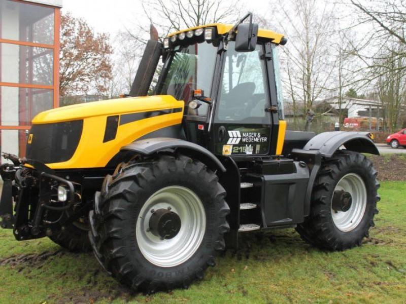 Wheel tractor JCB FASTRAC 2155