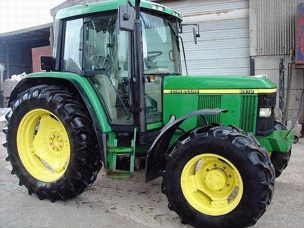 Wheel tractor JOHN DEERE 6410