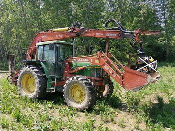 JOHN DEERE 6610 63qli con Caricatore - wheel tractor