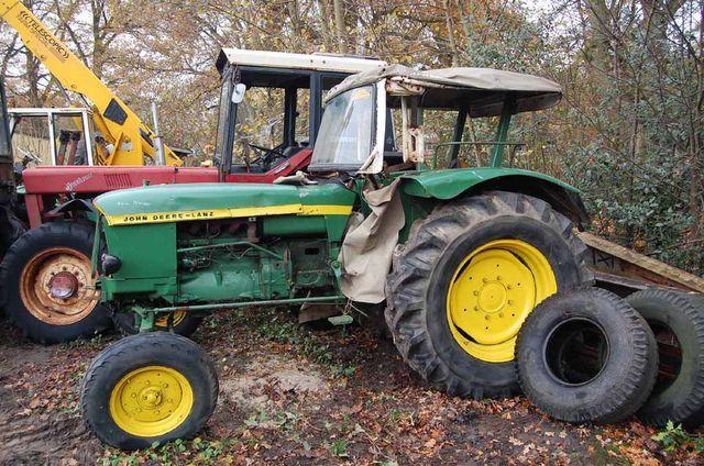 JOHN DEERE LANZ Ersatzteilliste Traktor 500