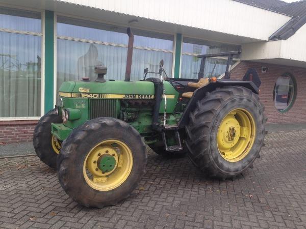 john deere 1640 4wd cabrio wheel tractor from netherlands. Black Bedroom Furniture Sets. Home Design Ideas