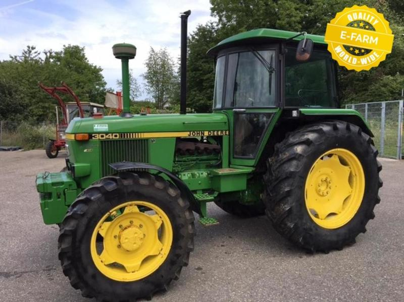John Deere For Sale >> John Deere 3040 Wheel Tractor From Germany For Sale At Truck1 Id