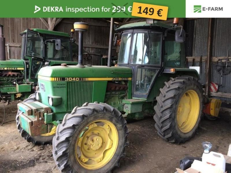 john deere 3040 wheel tractor from germany for sale at truck1 id