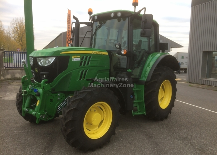 John Deere For Sale >> New John Deere 6130m Wheel Tractor For Sale From France At Truck1