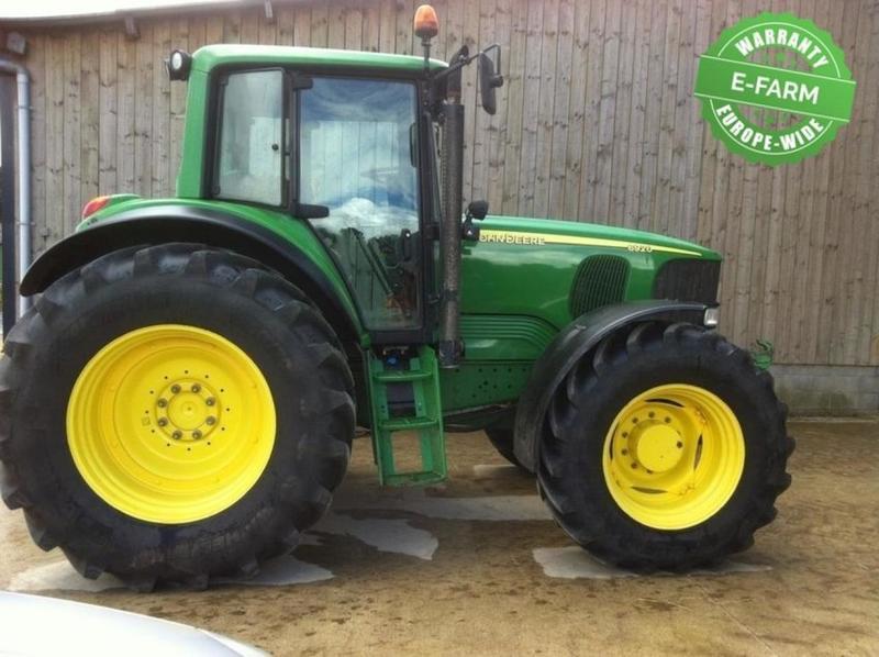 Berühmt John Deere 6920 PREMIUM wheel tractor from Germany for sale at @EP_23