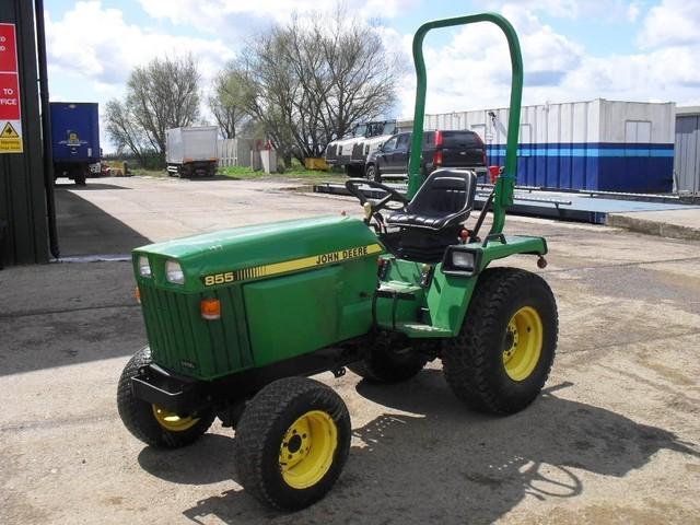 john deere 855 kompakttraktor wheel tractor from germany. Black Bedroom Furniture Sets. Home Design Ideas