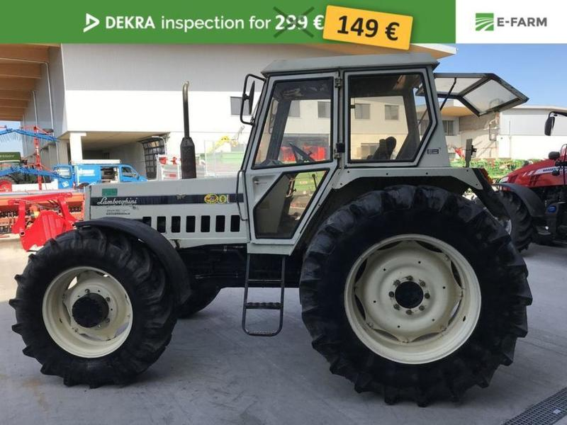 lamborghini r 1156 dt wheel tractor from germany for sale at truck1