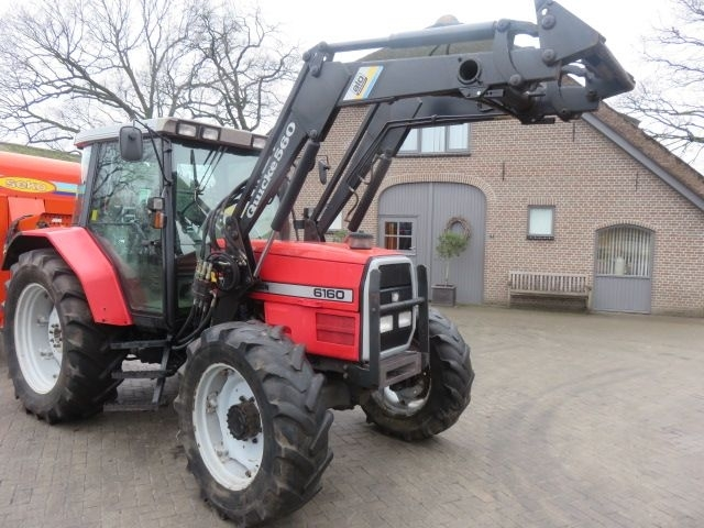 Wheel tractor MASSEY FERGUSON 6160 - Truck1 ID: 2970426