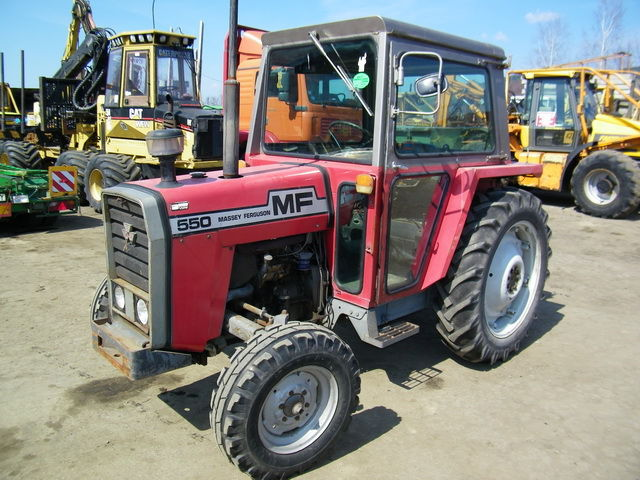 MASSEY FERGUSON MF 550 wheel tractor from Poland for sale at Truck1, ID: 792309