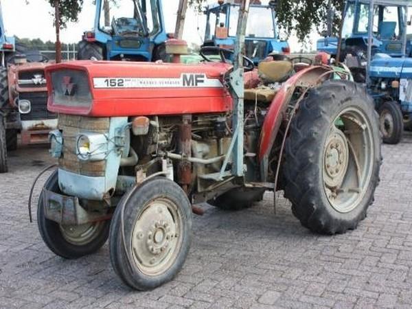 massey ferguson 152 wheel tractor from netherlands for. Black Bedroom Furniture Sets. Home Design Ideas