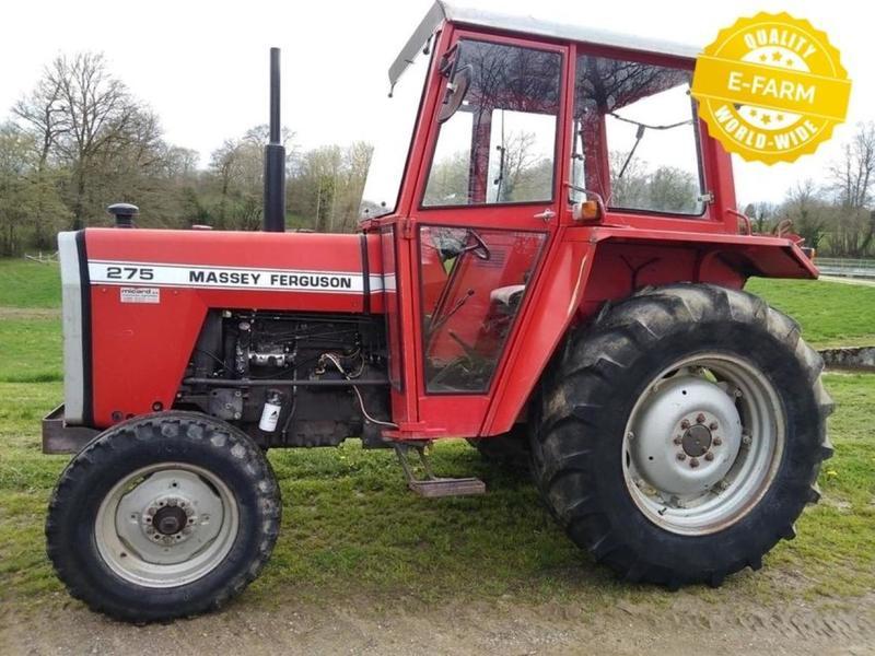 Wheel tractor Massey Ferguson 275 - Truck1 ID: 3097634