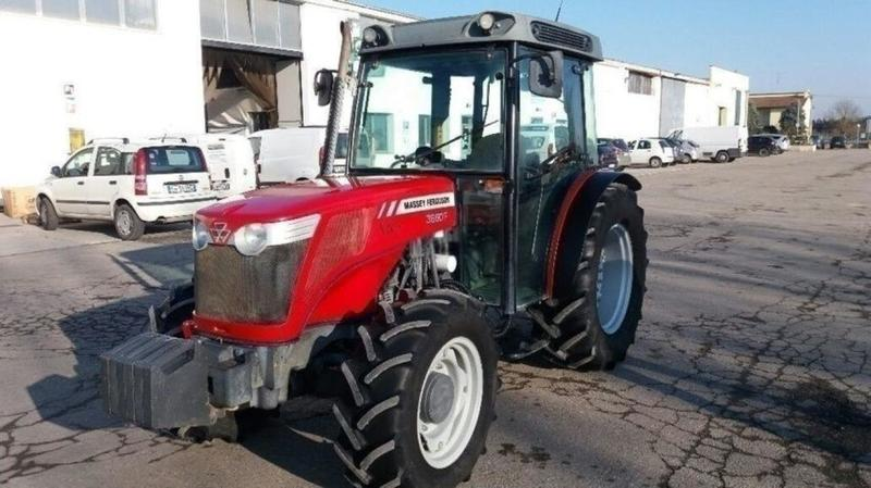 Wheel tractor Massey Ferguson 3660 F - Truck1 ID: 3501648